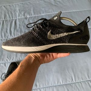 Nike Mariah Flyknit Racer Black Hard to Find VGC
